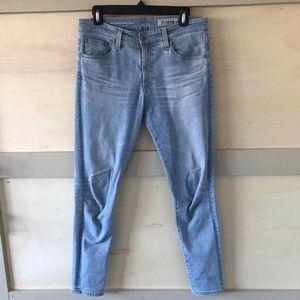 """AG Jeans """"Farrah"""" high rise skinny ankle"""